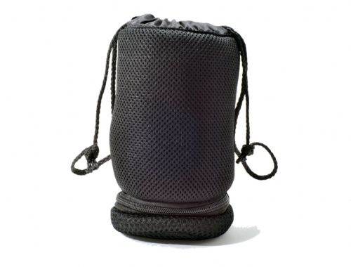 Large Padded Camera Lens & Filter Pouch with Zipped Storage Compartment